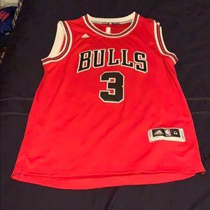 Dwayne Wade #3 Bulls Jersey